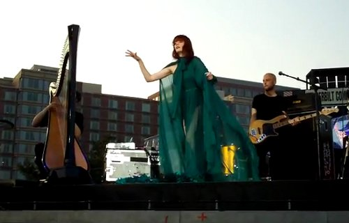 Florence Welch robe longue